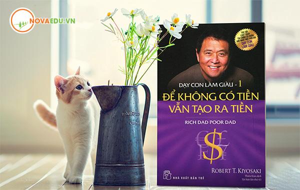 3 cuốn sách nên đọc trong đời về kinh doanh Dạy con làm giàu – Robert T. Kiyosak